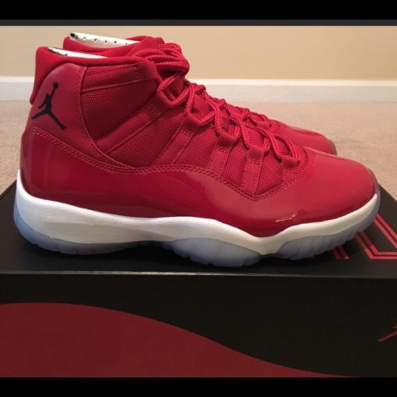 1a94c7231b5 Jordan 11s gym reds NWT